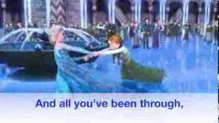 'Making Today A Perfect Day' Lyrics Video!  (Frozen Fever)