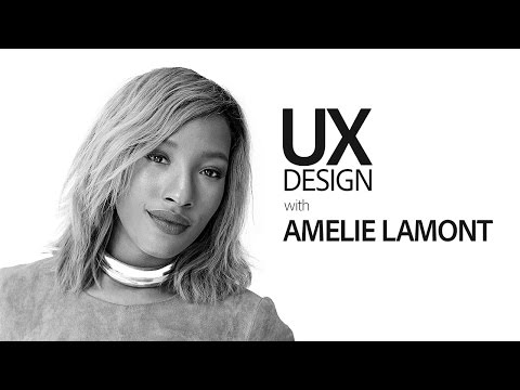 Live UX Design with Amélie Lamont - hosted by Michael Chaize 1/3