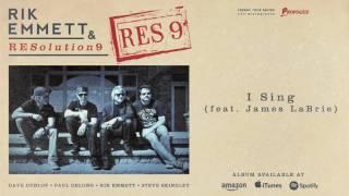 "Rik Emmett & RESolution 9 - ""I Sing (feat James LaBrie)""の試聴音源を公開 新譜「Res9」2016年11月11日発売予定から thm Music info Clip"