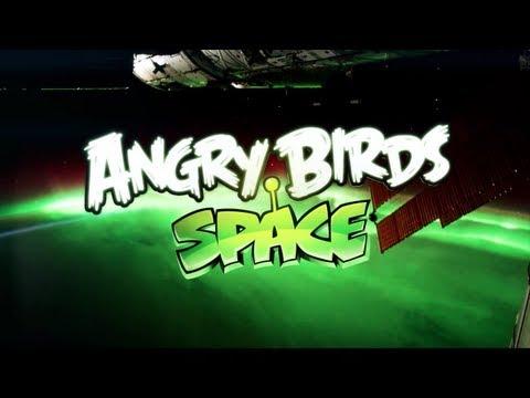 Angry Birds Space, el nuevo videojuego anunciado desde el espacio