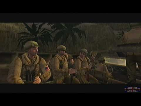 Call of Duty 2 Big Red One - Tunisia. Mission 1 [1/3]