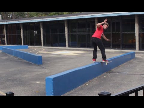 A Day Of Skateboarding - PERFECT Ledges!