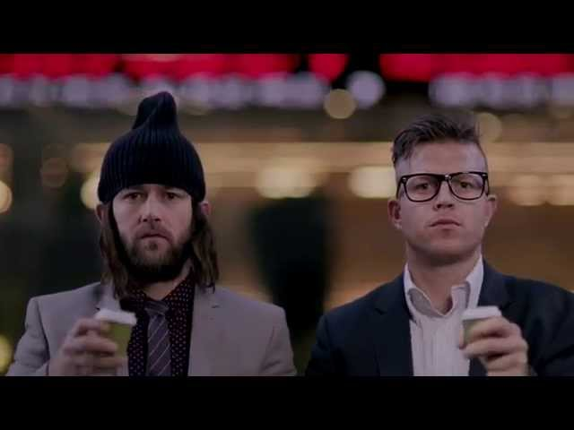 """""""FUCK THE BANKS"""" by the Bondi Hipsters"""