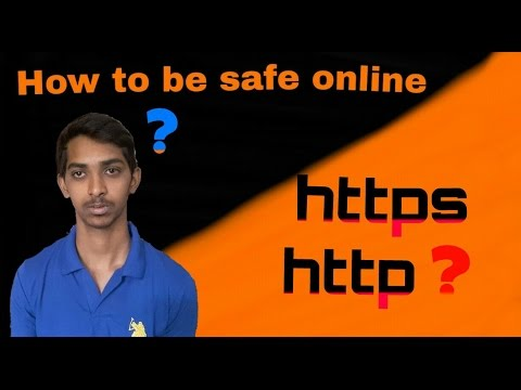 what is https and http ? how to secure online in telugu