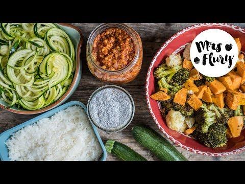 Meal Prep - 5 Zutaten für gesunde Gerichte