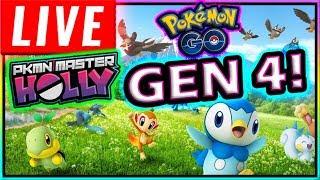 LIVE! SHINX RAID & GEN 4 HUNTING POKÉMON GO!