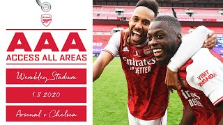 ACCESS ALL AREAS | Unseen footage | 2020 Emirates FA Cup winners!