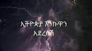 ethiopian music new year