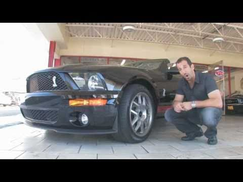 2009 Ford Mustang Shelby GT500 Convertible FOR SALE flemings ultimate garage