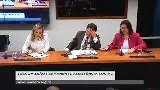 CSSF - Subcomissão Permanente Assistência Social - Reunião - 21/05/2019 - 16:47