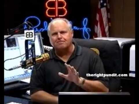 Rush Limbaugh on Gay Marriage