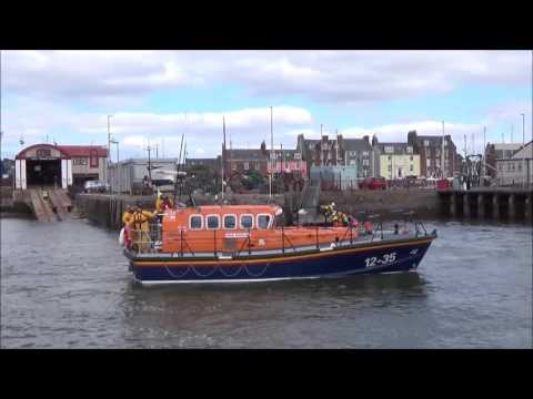 RNLI Arbroath Lifeboats Exercise 14th May 2016