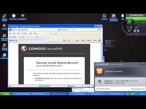 Avast Antivirus 7 with Comodo Firewall 6 FINAL - Test with more links