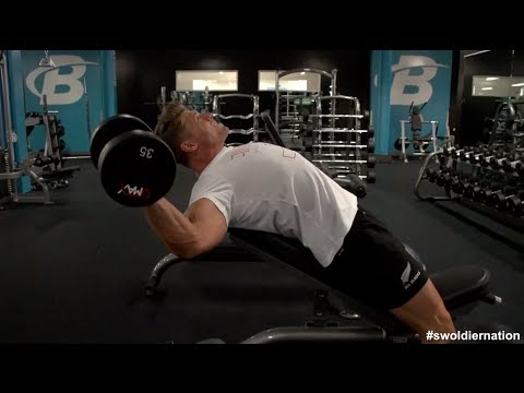 Swoldier Nation - Trainer Edition - Weak Area Chest Workout video