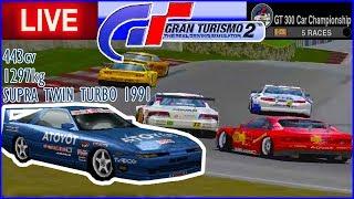 SUPRA DAS ANTIGAS no Campeonato GT300 - Gran Turismo 2