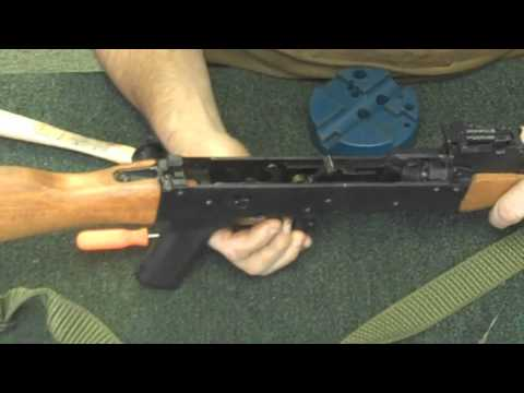 Gunsmithing: AK-47 Disassembly .223 (Gunworks)