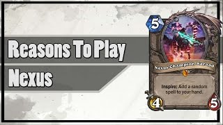 Hearthstone: Reasons To Play Nexus Champion Saraad