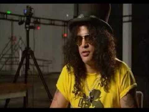 Guitar Hero III - Making of with Slash