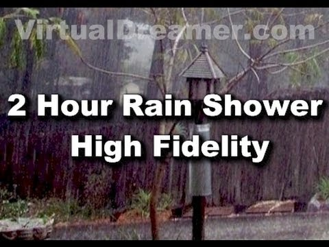 Rain Sounds : 2 Hour Long Sound Of Raining - Sleep Sounds video