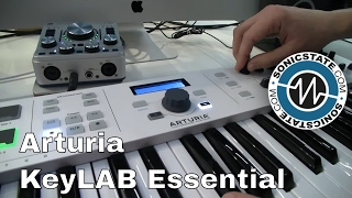 MESSE 2017: Arturia KeyLab Essentials 49 and 61