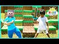 download mp3 dan video MINECRAFT In Real Life Steve vs Ryan ToysReview Minecraft Surprise Toys Hunt
