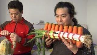 Nhạc cụ bằng rau quả