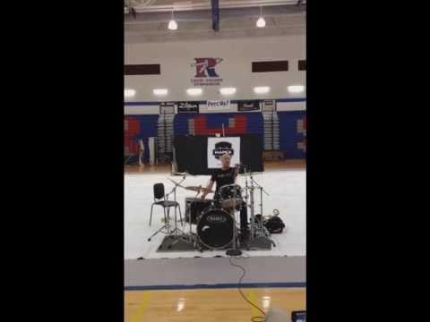Gregg Bissonette - Perc Up! 2013 - Riverside High School, Greer SC