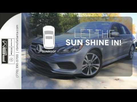Certified 2014 Mercedes-Benz E-Class Atlanta GA Sandy Springs, GA #U13496