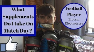 BEST 3 Supplements For Soccer Match Day! Performance, Fitness And Recovery!
