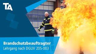 Ausbildung zum Brandschutzbeauftragten/-helfer