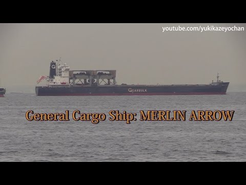 General Cargo Ship: MERLIN ARROW (Gearbulk Norway, IMO: 9155303)