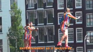 Flyboardshow Canal Parade Pride Amsterdam 2017 dual backflip flyboard