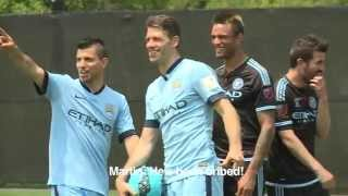 Team Aguero v Team Villa New York Challenge (2)