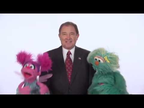 Sesame Street Healthy Habits with Governor Herbert