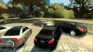 Gta 4 My Cars And BMW m5 Hamann Driving