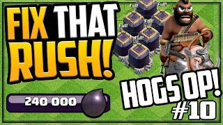 OVERPOWERED Farmers?! GEM, MAX, Fix That Rush - Clash of Clans - Episode 10!