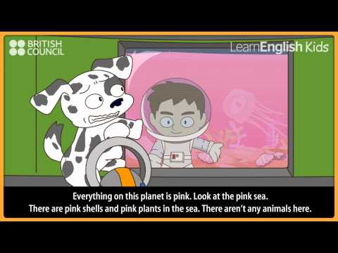 Our colourful world - Kids Stories - LearnEnglish Kids British Council