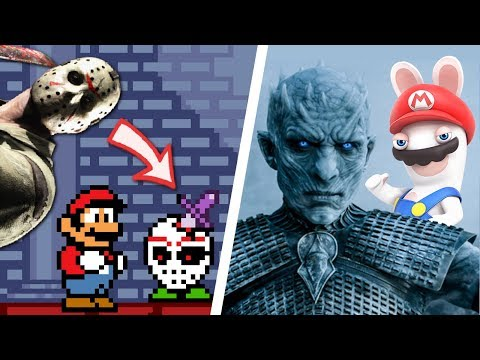 All Non-Nintendo References in Mario Games (1983 - 2018)