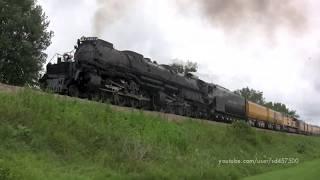 Union Pacific's Big Boy 4014 - Mason City to Saint Paul run