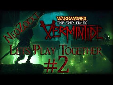 Warhammer End Times Vermintide #2 Auf Hard durch die Straßen [Let´s Play Together 1080p german]