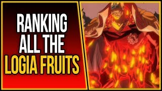 Ranking All The Logia Devil Fruits | ワンピース
