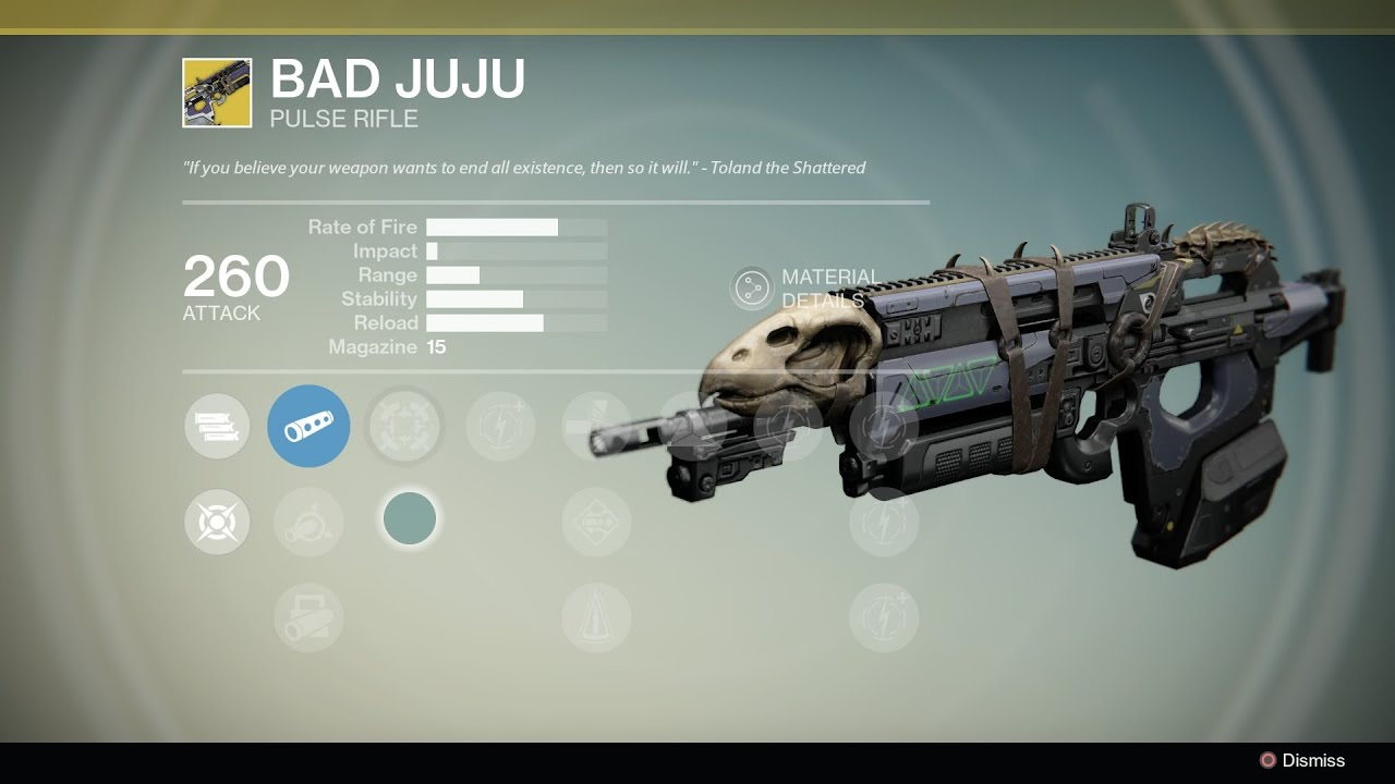 09 destiny bad juju gold weapon vs hard light youtube
