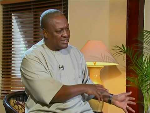 David Ampofo interviews Vice President John Dramani Mahama on Ghana's Oil find.