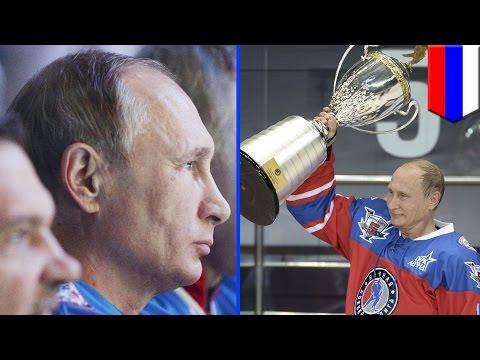 Putin 2015: ex-NHL stars join Vladimir Putin's hockey birthday bash in Sochi - TomoNews