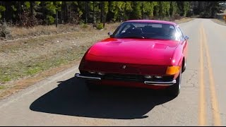 1973 Ferrari Daytona RETRO DRIVE REVIEW