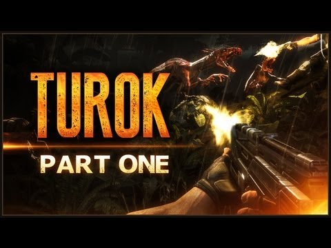 Turok   #1   Going To Dinosaur Hell.