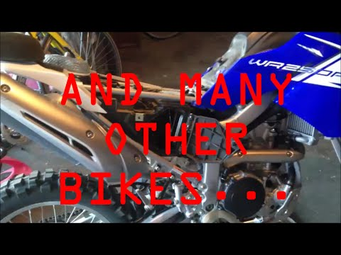 Yamaha WR250R Snake Bite Airbox Modification *CDSR*