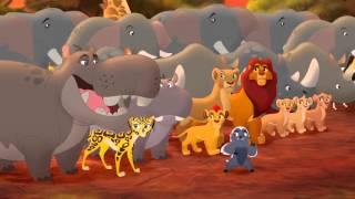 Makuu Vs  Pua Mashindano   Lion Guard Fight Scene HD