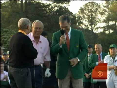 Masters Tournament Tees Off