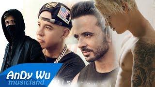 Download Lagu Luis Fonsi, Alan Walker - Despacito / Faded (feat. Justin Bieber, Daddy Yankee) Gratis STAFABAND